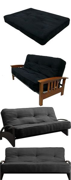Medium image of futons frames and covers 131579  dhp 8 inch independently encased coil premium futon