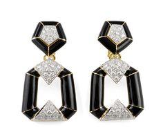 David Webb Earrings c/o Grace Ormonde Wedding Style