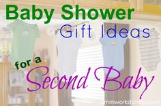 Baby Shower Gift Ideas for a Second Baby