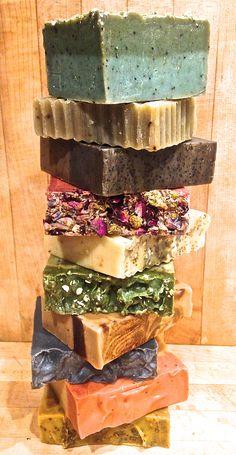 Urban Earth Farms soap stack!!