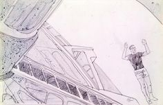 Astonishing illustrations from the set of Kubrick's '2001: A Space Odyssey' | Dangerous Minds