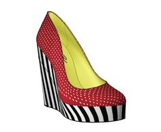 Design Your Own Shoes: Pin Up #NYFWSOP