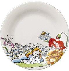 Disney ディズニー 不思議の国のアリス ケーキ皿(アリス) D-AL01 AM-MB29794
