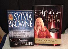 2 Sylvia Browne Books....listia.com