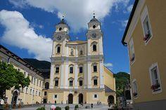 Mondsee, Austria  (aka- where the Captain and Maria Von Trapp got married :)