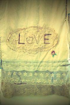 dear my  ♥shabby white&cream&silver and brocante decoration♥ board followers:HAPPY VALENTINE's DAY!!!
