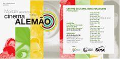 """Centro Cultural SESC Boulevard: Abertura da mostra """"Encontro com o Cinema Alemão"""" ..."""