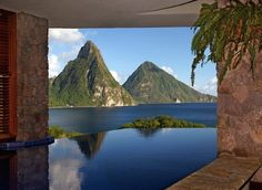 The Caribbean's Best Pools - 2014  Our favorite pools around the Caribbean!  BungalowH2O Collection  Jade Mountain @caribjournal