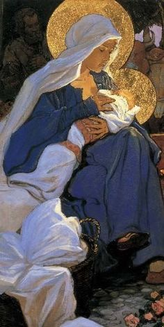 Blessed Mother Mary and Jesus Blessed Mother Mary, Divine Mother, Blessed Virgin Mary, Mother Son, Virgin Mary Art, Religious Pictures, Religious Icons, Religious Art, Images Of Mary