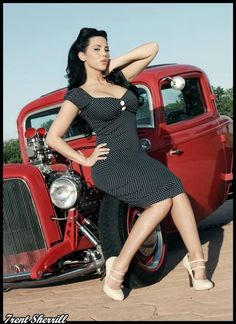 For more pin ups, kustom kulture, rat rods and bad-assersy, check out my other bloghttp://simmons187.tumblr.com/