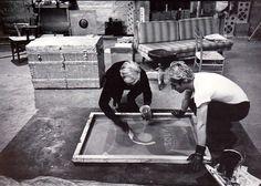 warhol screen printing technique | La sérigraphie: des origines aux années 1960. | COLLECTIF TEXTILE