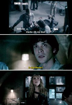 """Bellamy """"I should have killed you when I had the chance; you're mistaking me for someone who cares"""" Blake"""
