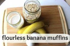 Flourless Oatmeal Banana Muffins- My Top Posts