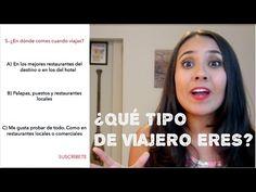 TEST: ¿QUÉ TIPO DE VIAJERO ERES? - YouTube Learn To Speak Spanish, Ap Spanish, Spanish Class, Teaching Spanish, Amazing Race, Hotel Sites, Middle School Spanish, School Projects, Infographic