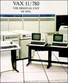DEC VAX minicomputer ~1977