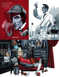 Fernando Vicente: Sherlock Holmes, A Study in Scarlet