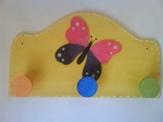 Perchero mariposa made by me