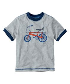 This Heather Gray Art Tee - Infant, Toddler & Boys by Hanna Andersson is perfect! #zulilyfinds
