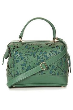 Floral Laser Cut Holdall - Shoulder Bags - Bags & Wallets  - Bags & Accessories