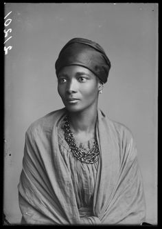 Mrs Eleanor Xiniwe (née Ndwanya) of the African Choir, 1891. Photographed by London Stereoscopic Company studios. Between 1891-1893 a group of young Africans singers toured Britain and North American...