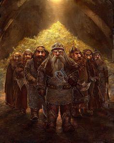 Гномы Эребора   The Dwarves Of Erebor