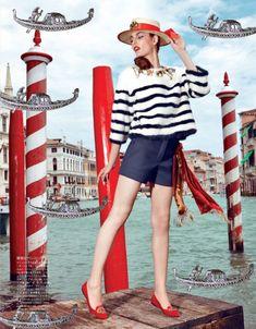 Zuzana Bijoch by Pierpaolo Ferrari for Vogue Japan February 2014