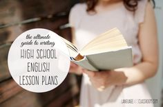 Writing English lesson plans can be intimidating. This is the ultimate guide for writing high school English lesson plans.