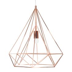 Corbeille en m tal graphique copper maisons du monde design products - Maison du monde lampes ...