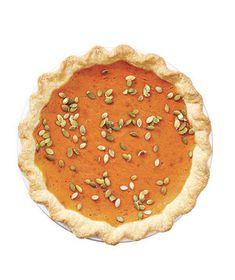 Gingery Pumpkin Pie | Get the recipe for Gingery Pumpkin Pie.