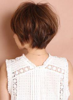 【ショートヘア】大人の柔らかキュートショート/CIRCUS by BEAUTRIUMの髪型・ヘアスタイル・ヘアカタログ|2016春夏