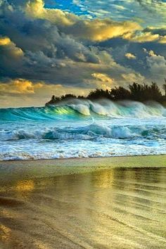 #Kauai, #Hawaii #beach