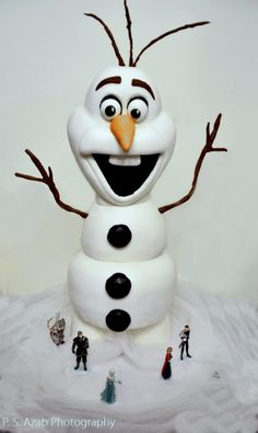 Olaf - Olaf cake <3
