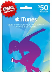 buy itunes gift card with credit card