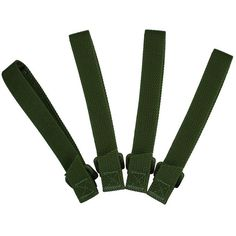 5in. TacTie, OD Green, Pack of 4. $6.29