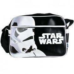 Sac Star Wars à Bandoulière Stormtrooper Portrait et Logo #logostore #starwars