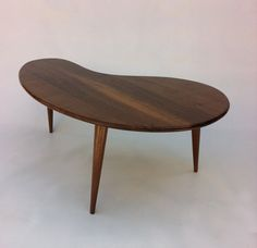 Mid Century Modern Coffee Table Solid by studio1212furniture