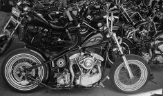 Wrenching & Wenching Bobber Motorcycle, Bike, Harley Davidson, Shovel, Bicycle Kick, Bicycle, Bicycles, Dustpan