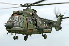 Netherlands AS532 Cougar helicopter, Photo : André Bour