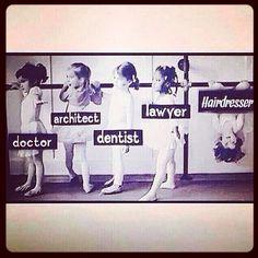 doctor architect dentist lawyer hairdresser