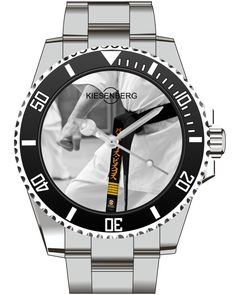 Karate Watch Kiesenberg  -Men Watch Jewelry Fighting Karate  Gift Present for Men- Watch 2002 von UHR63 auf Etsy