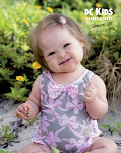 Meet Valentina Guerrero, a 10-month-old from Miami who's modeling for the Dolores Cortés Kids USA swimwear catalogue.
