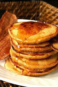 Plan to Eat - Kamut Gingerbread Pancakes - angepeets