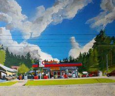 GB Glace: oil on canvas 138cm x 118cm x 2cm. Karl Newman