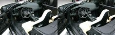 Inside look of the amazing Audi. Creating stereo card is one of the features 3DWiggle provides.