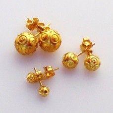 Brincos de ouro (Contas de Viana)/Portuguese gold Earrings (Contas de Viana)