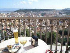 terrasse panoramique Cagliari, via del fossario