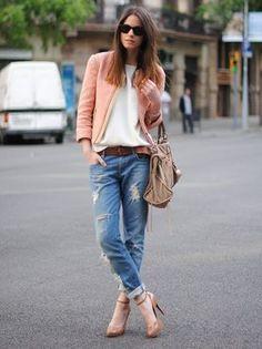 ¿Con qué zapatos prefieres usar tus 'boyfriend jeans'?