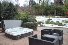 Spa Jacuzzi® sur une terrasse, #spa #jacuzzi #terrasse