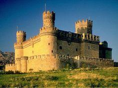 Manzanares El Real Castle, Spain