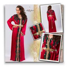 """sallykaftan.com 10"" by jnatasa ❤ liked on Polyvore featuring ARTE, lace, outfits, reddress and handmade"